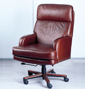Delicieux Big And Tall Leather Office Chairs, Leather Wood Finish Chairs ...