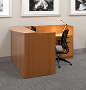 L Shaped Reception Desks