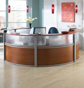 ... Modern Reception Desks ...