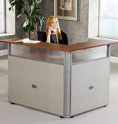 small reception desks
