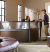 Office Foyer Furniture Reception Desks Contemporary And Modern