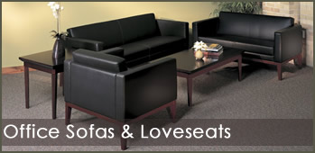 Office Sofas and Loveseats