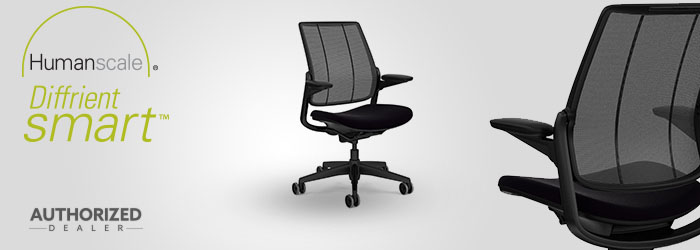 Humanscale Diffrient Smart Chair Quick Ship