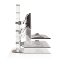 Winston Sit Stand Workstation Up