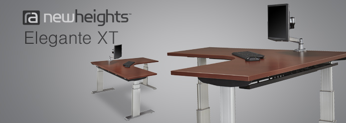 Introducing The Powered Adjustable Height Desk By NewHeights™, Enjoy The  Benefits Of A Sit To Stand Desk With Just The Push Of A Button.