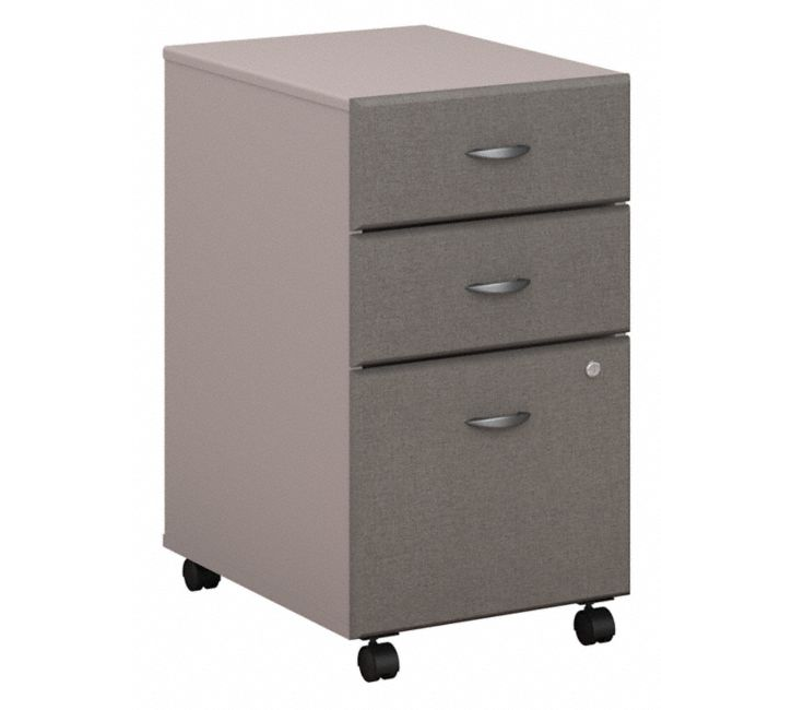 Hansen Cherry Laminate Finish 3 Drawer Mobile Pedestal