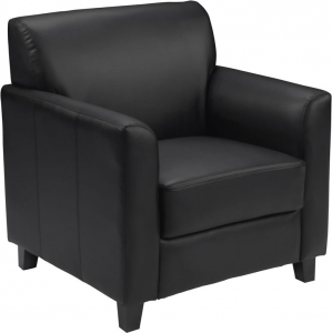 *New* BTOD Diplomat Series Leather Lounge Chair Available In Black Or Brown