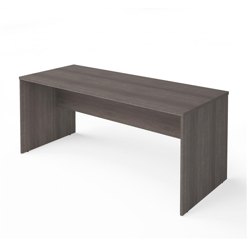 Bestar I3 Plus Bark Grey  Melamine finish Desk Shell