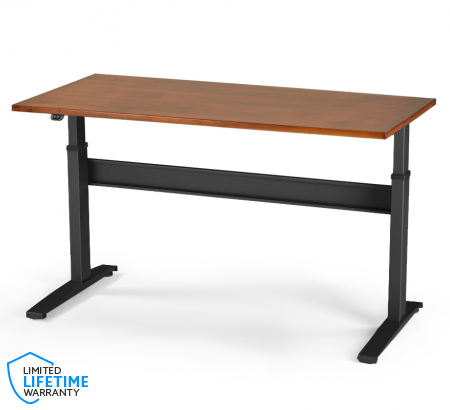 VertDesk v3 Electric Sit Stand Desk - Solid Wood Top