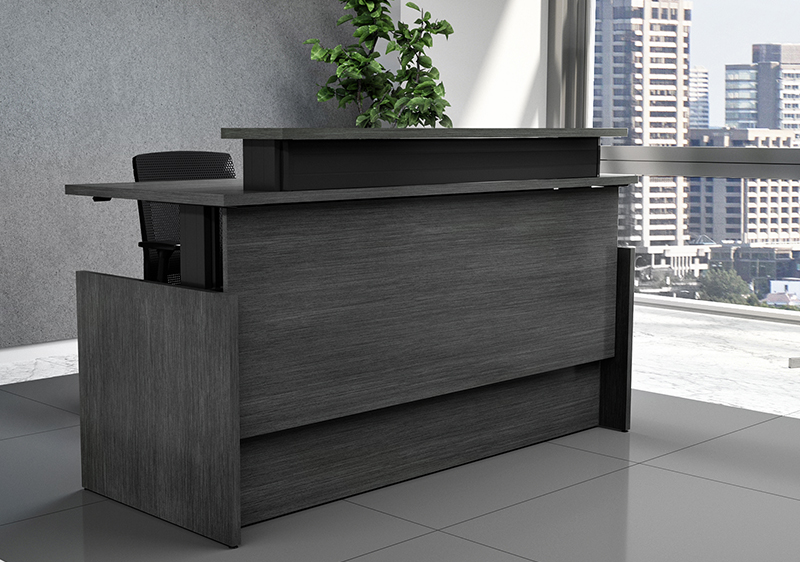 Vertdesk Executive Series Sit To Stand Reception Desk