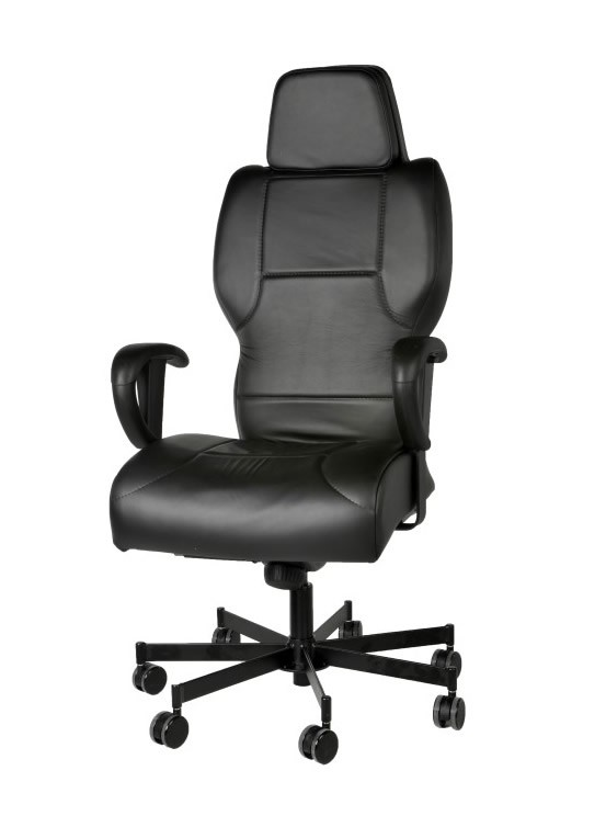Concept Seating 3142 High Back 24 7 Chair 550 Lbs Rating W Cut Away Black Fabric Vinyl Or Leather Ships In 5 Days