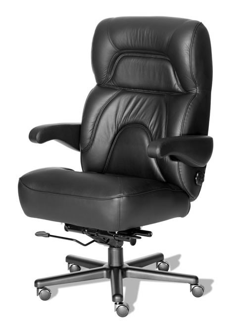 "ERA Chairman Extra Large Big and Tall Desk Chair 400 lbs Rating 26"" Wide Seat"