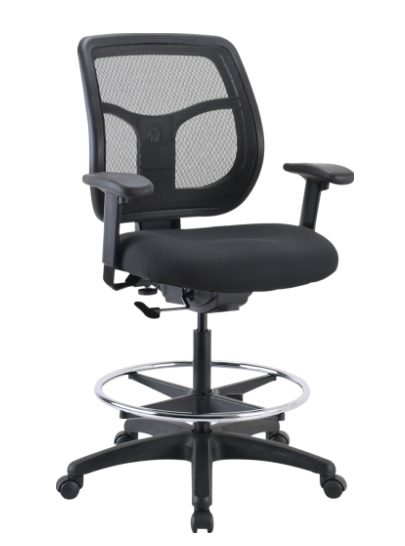 "*New* Eurotech Apollo Drafting Chair w/ Seat Height Range 23.5""-32.5"""