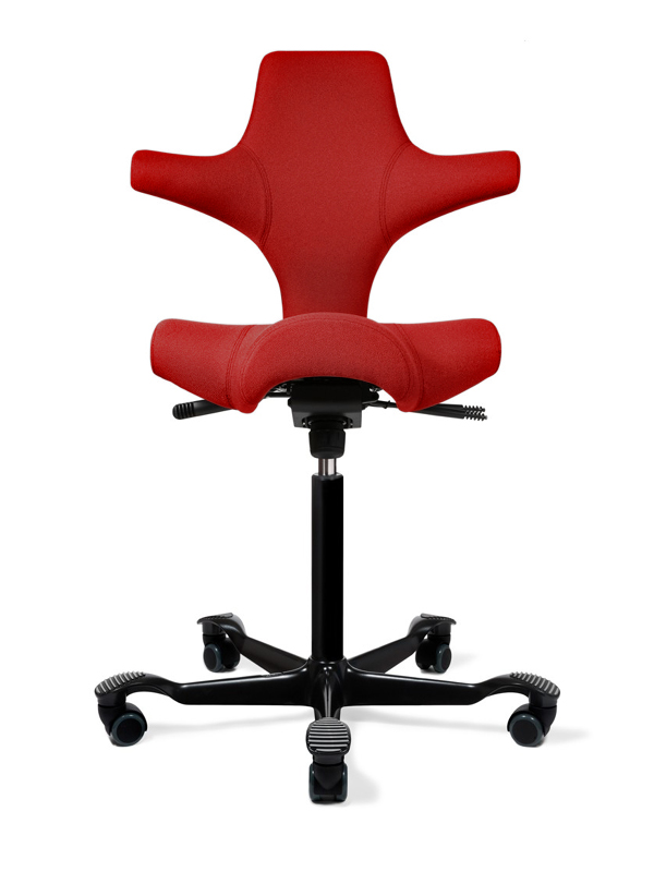 HAG Capisco 8106 Saddle Seat Stool w/ Back Support