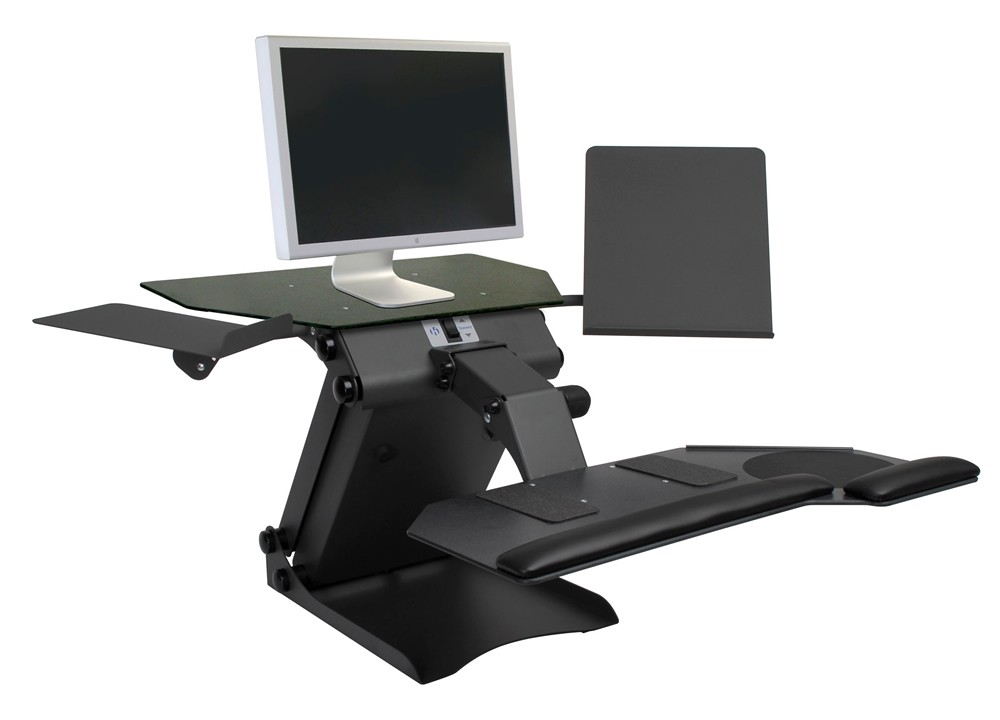 "HealthPostures TaskMate Electric Height Adjustable Workstation  Range 5.5""-18""H"