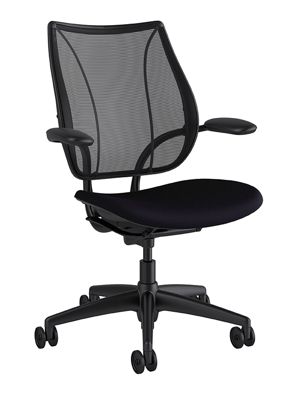 Custom Humanscale Freedom Task Chair in Leather – Humanscale Task Chair