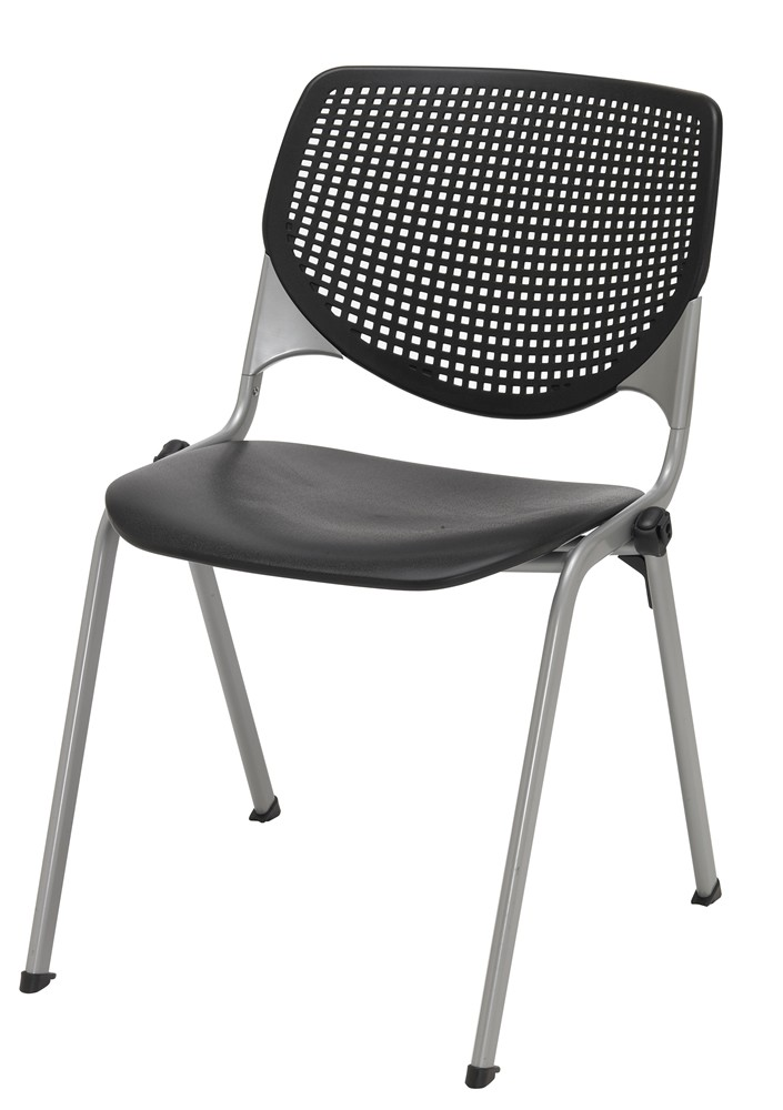 KFI 2300 Series Stack Chair Rated For 400 lbs *Must Purchase 2 Chairs*