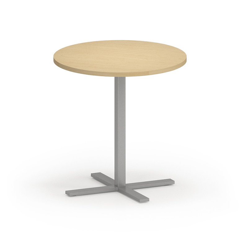"Lesro Avon Series 30"" Round Dining Height Caf?? Table"