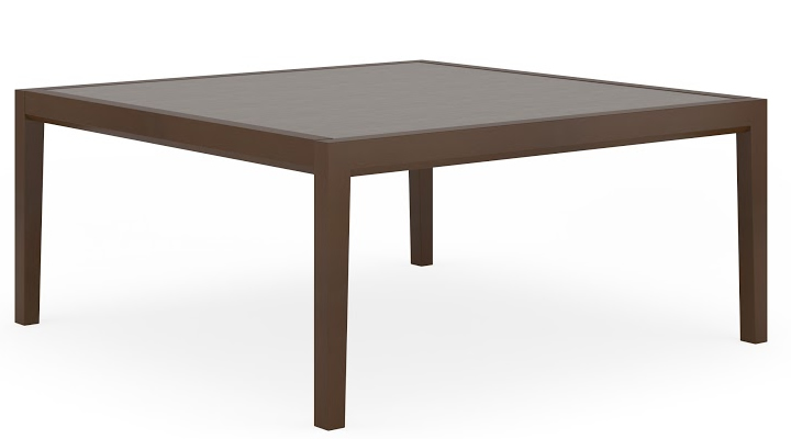 Lesro Brooklyn Series 42 Square Coffee Table