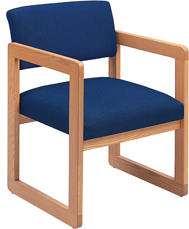 Lesro Classic Open Back Series Guest Chair