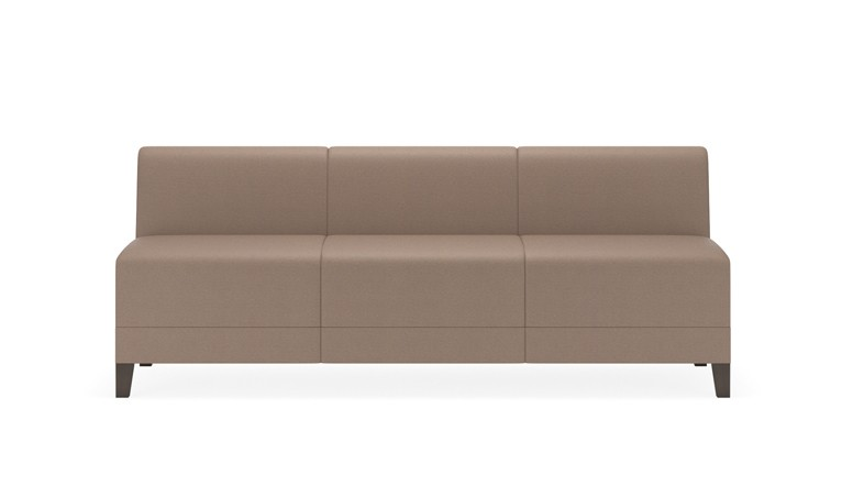 Lesro Fremont Series Armless Reception Sofa