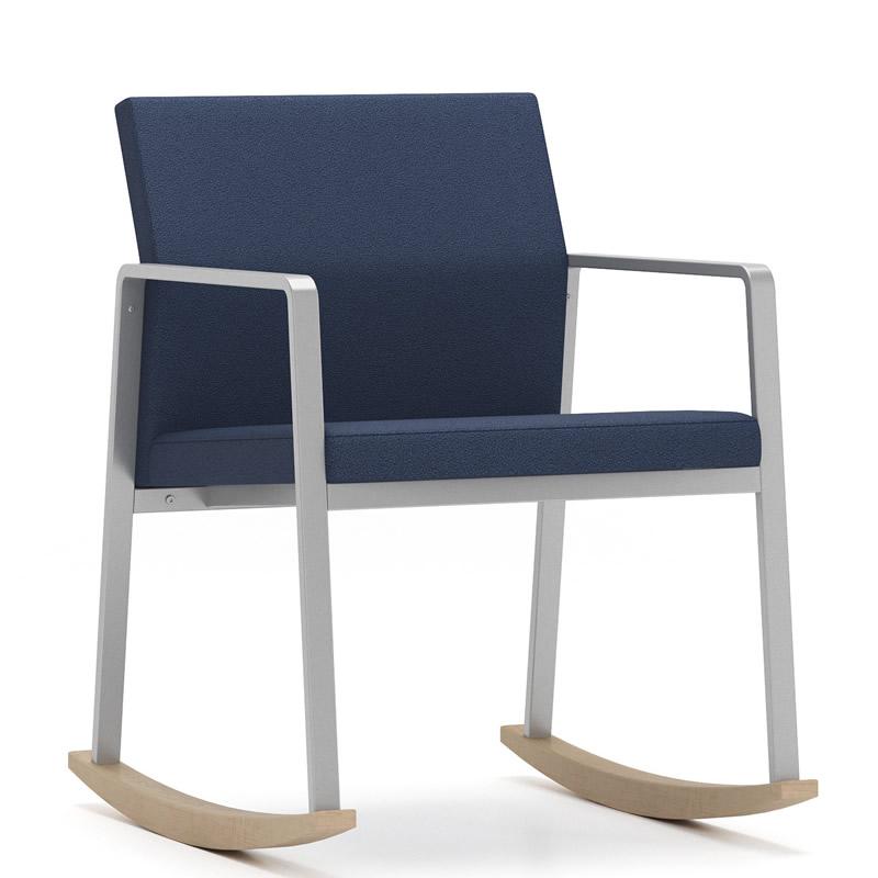 Lesro Gansett Series Rocking Chair W/ Solid Wood Rocker