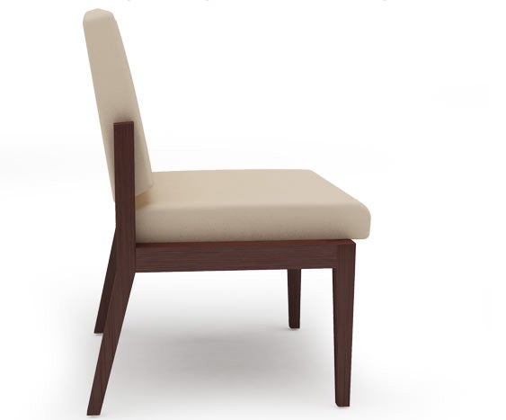 Lesro Amherst Series Armless Guest Chair