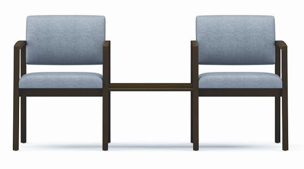 Lesro Lenox Series 2 Reception Chairs w/ Center Table