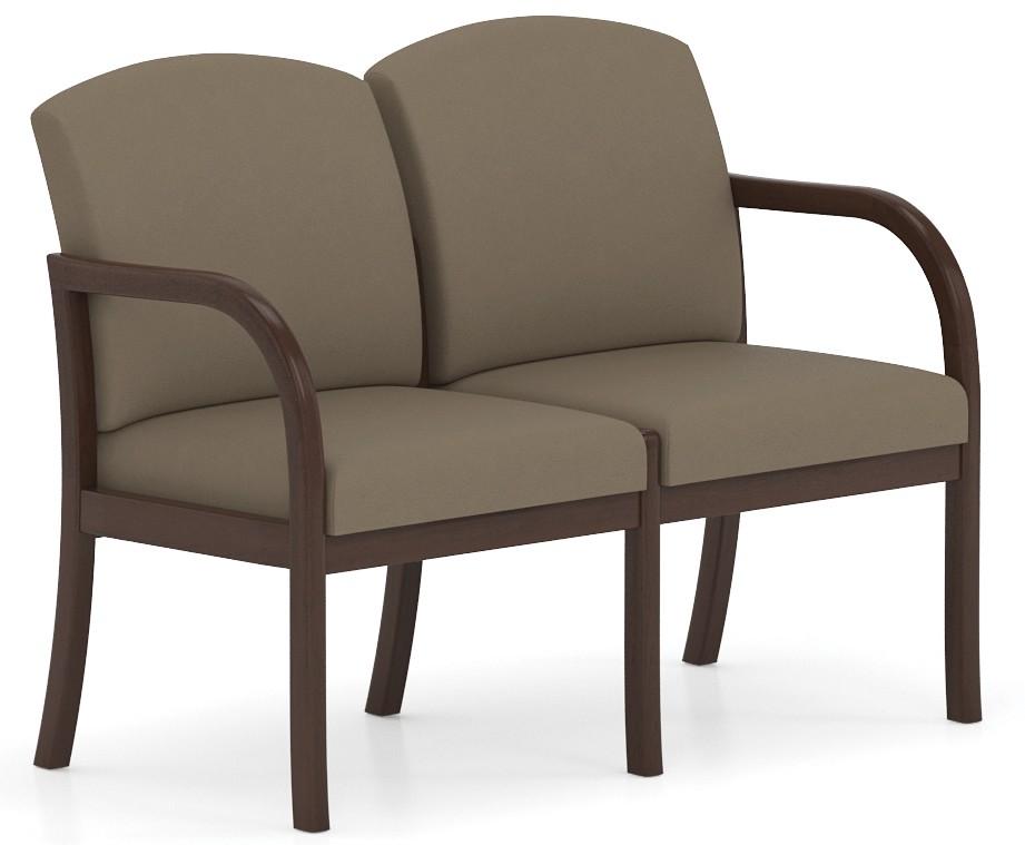 Lesro Weston Series 2 Seat Waiting Chair W2301G5