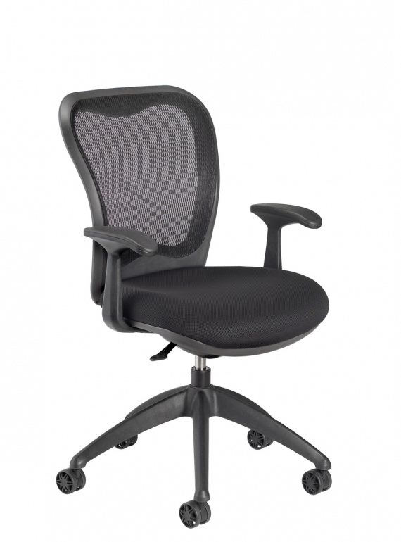 Nightingale MXO Mid Back Conference Chair Memory Height And Position