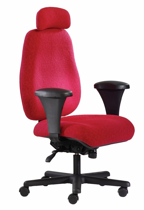 "Neutral Posture Big And Tall Jr. 24/7 Intensive Use Chair - Optional 25"" Seat 500 lb. Rating!"