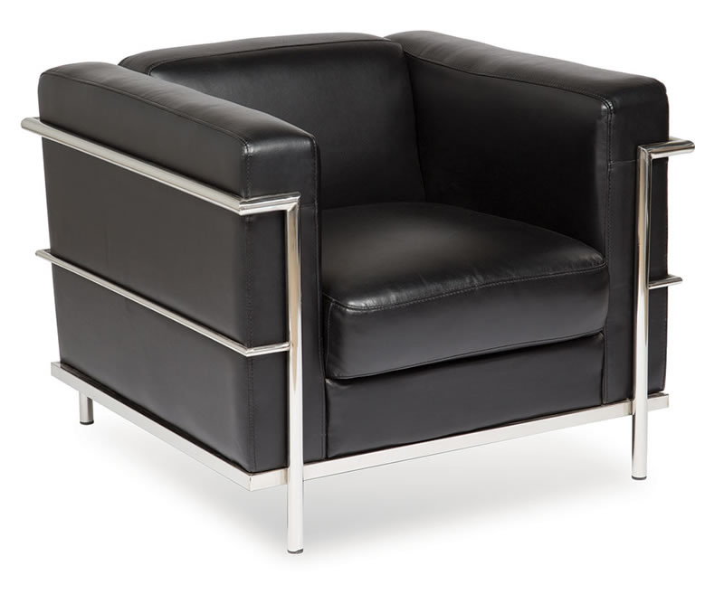 Magnificent Madison Series Modern Club Chair W Exposed Chrome Frame Dailytribune Chair Design For Home Dailytribuneorg