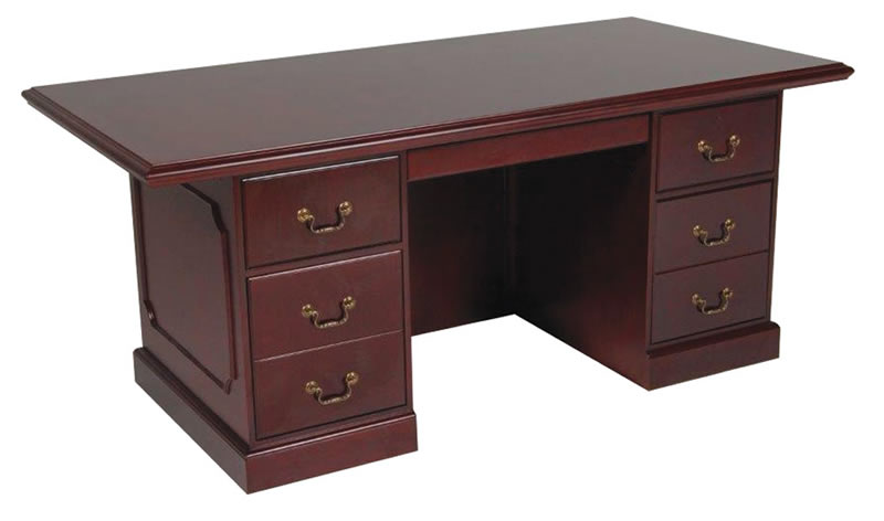 "OS 900 Traditional 72"" Executive Desk"