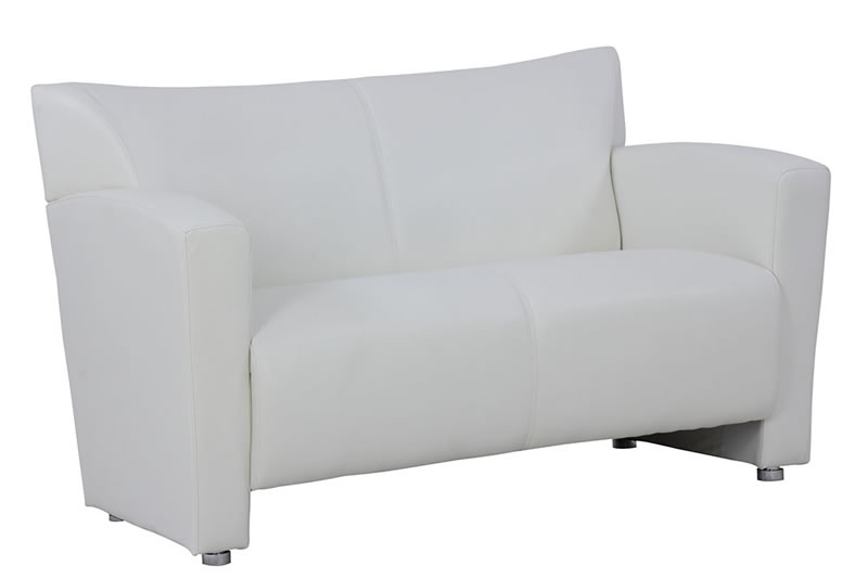 Tribeca Series Leather Soft Vinyl Loveseat