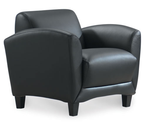 Manhattan Series Top Grain Leather Lounge Chair