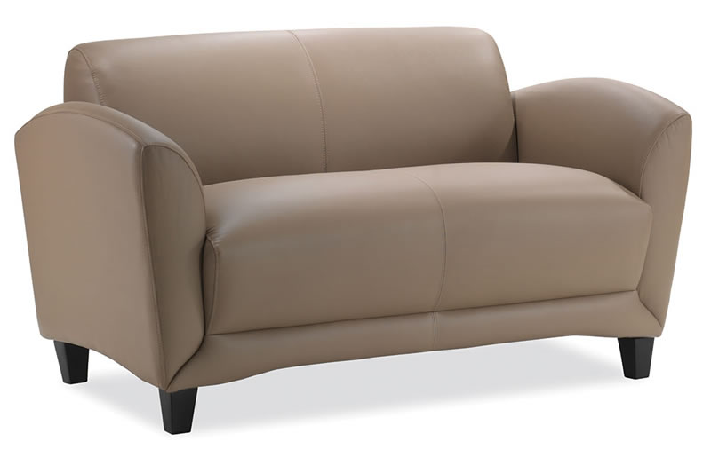Manhattan Series Top Grain Leather Loveseat