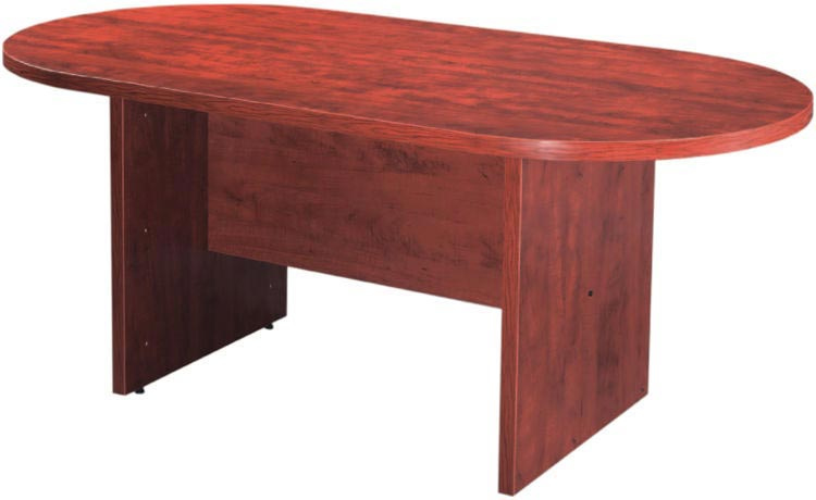 OS Laminate Series Racetrack Conference Table w/ Slab Bae