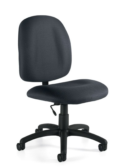 Offices To Go Adjustable Task Chair Without Arms