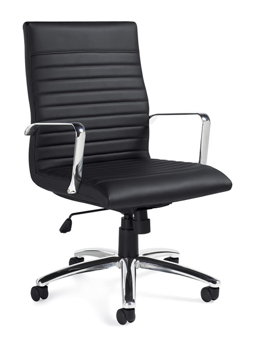 Offices To Go Executive Luxhide Leather Office Chair