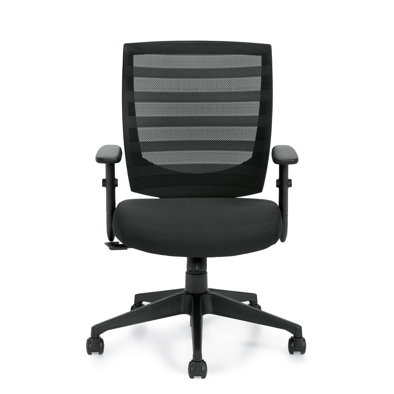Offices To Go Mesh Office Chair w/ Single Position Tilt Lock