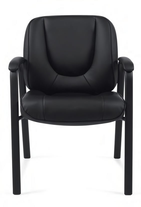 Offices To Go Luxhide Bonded Leather Guest Chair