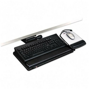 3M� AKT150LE Lever-Less Height Adjustable Keyboard Tray w/ Tilt