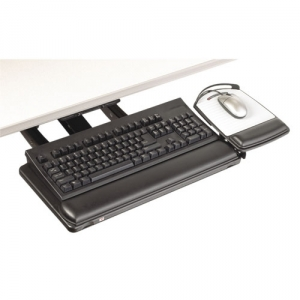 3M� AKT180LE Lever-Less Sit to Stand Adjustable Keyboard Tray