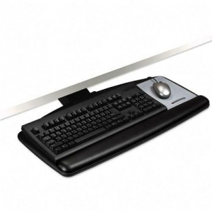 3M� AKT70LE Value Lever Adjustable Keyboard Tray w/ Built In Mouse Tray