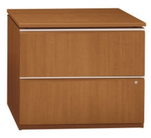 "Bush Milano2 Series 36""W 2-Drawer Lateral File w/ Lock"