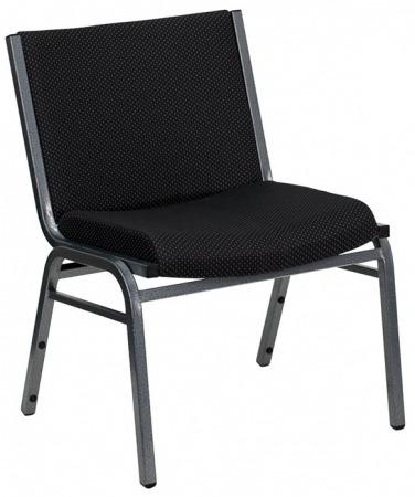 "BTOD Big And Tall Fabric Guest Chair 20"" Wide Seat Rated For 1000 lbs."