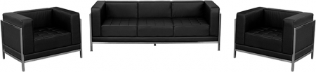 BTOD Imagination Series Sofa And Two Chair Set With Steel Legs