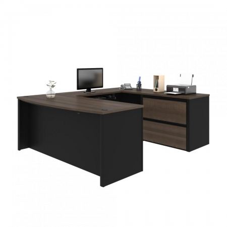 Bestar Connexion U Shaped Office Desk
