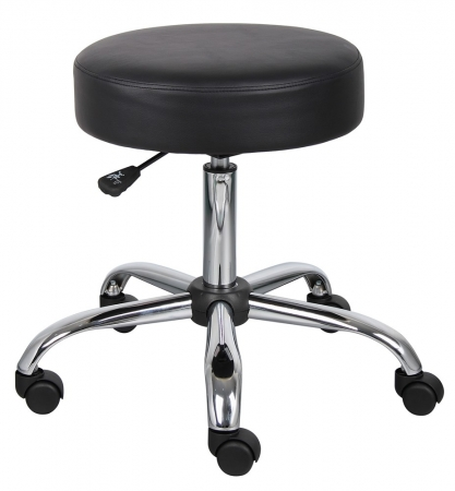 "Boss Backless Doctor's Stool Seat Height 11-17"" (BS-B240)"