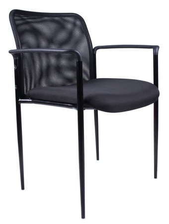 Boss Stackable Guest Chair w/ Steel Frame (BS-B6909)